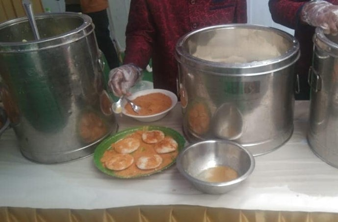 Breakfast Catering at Gopan Pally, Tellapur