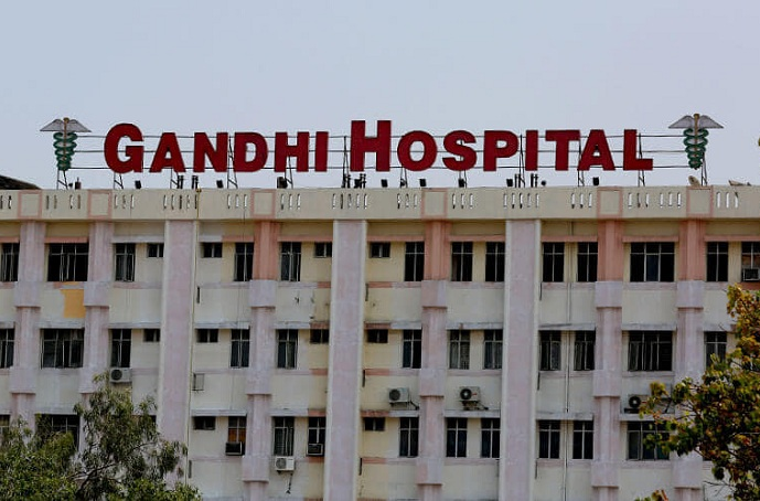 Catering at Gandhi Hospital, Musheerabad
