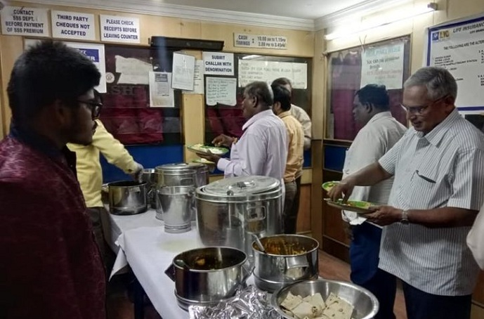 Corporate Catering at LIC office, Nampally