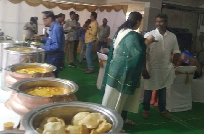 Lunch Catering at Jubilee Hills
