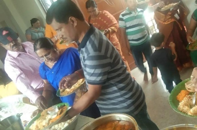 Lunch Catering at Sri Sai Enclave, Bolarum