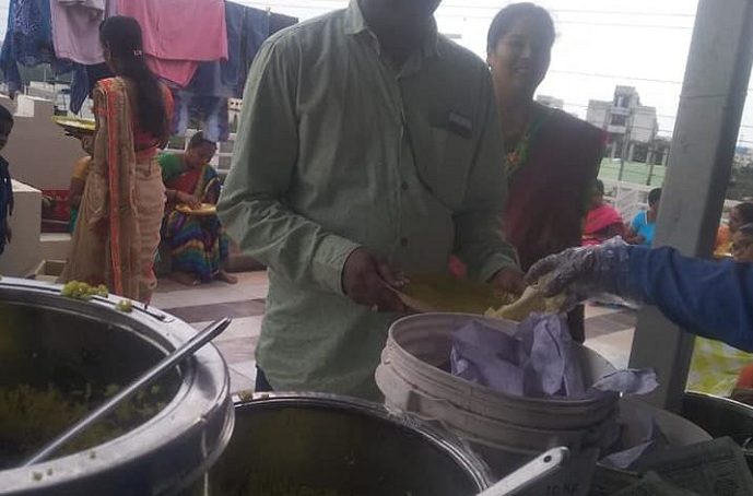 Catering at Jagadgiri Gutta
