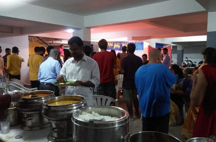 Dinner Catering at Gayatri Residency, Kondapur