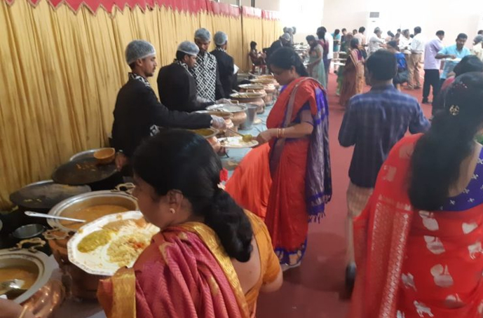 Wedding Catering at Kolan Raghava Reddy Gardens, Nizampet